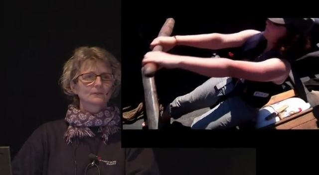 November, 2012: På jubilæumstogt med Havhingsten